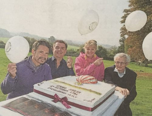 Balloon release marks pastry chef's pioneer flight