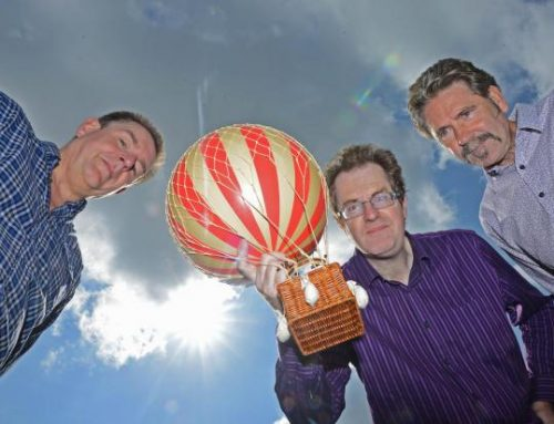 Up, up and away! Pair plan balloon ride tribute to unsung adventurer